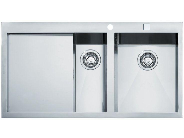 Spülbecken Pinterestu0027te Einbauspüle, Edelstahl Spülbecken ve - spülbecken küche granit