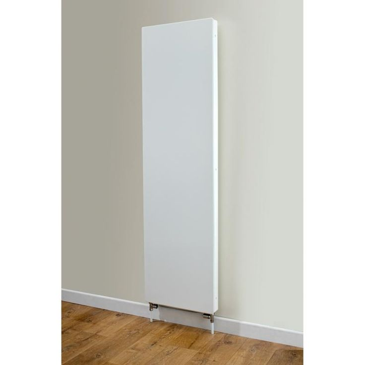Cheshire Radiators Wincham Vertical Flat Panel Steel Radiator In White Cast Iron Period