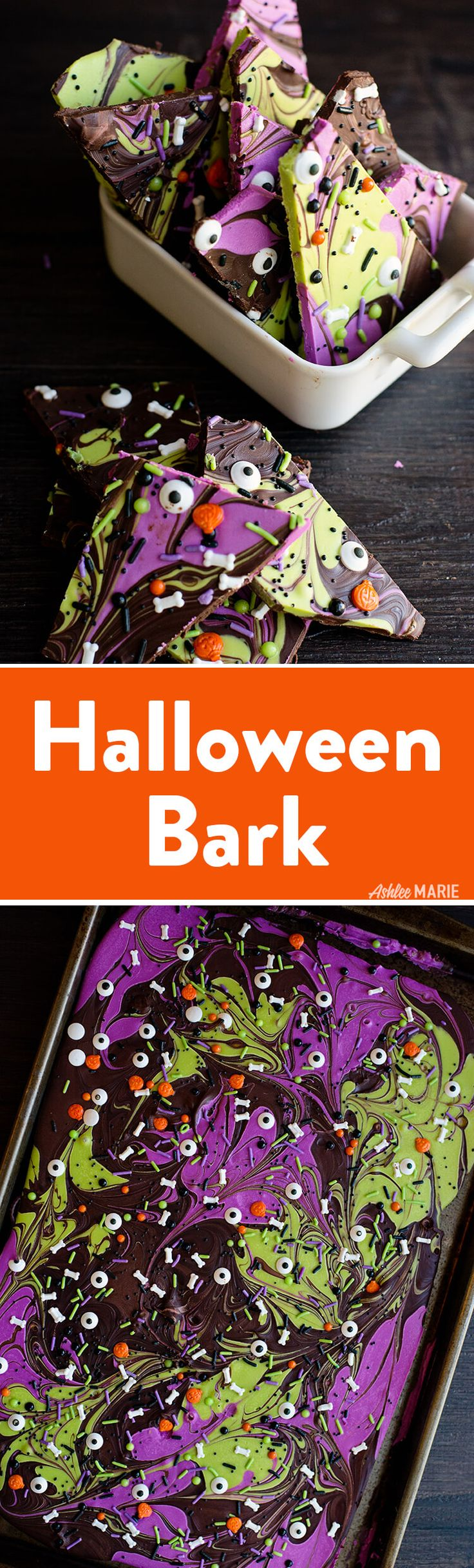 chocolate bark is perfect for any holiday or party. It's simple to make and to personalize.