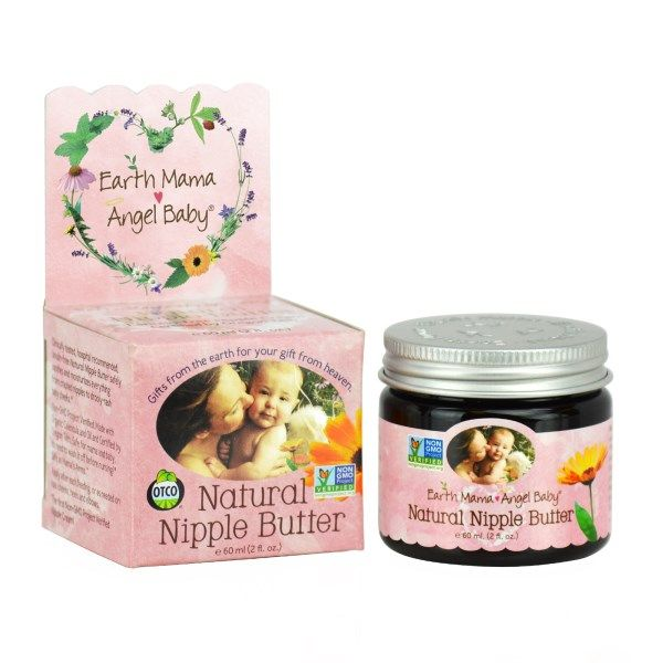Earth Mama Angel Baby, Natural Nipple Butter: Safely moisturizes and soothes everything from mama nipples to baby cheeks. It's lanolin-free and safe for mama and baby, no need to wash it off before nursing! Child Education Ideas Children Health People Baby Tutorials Onesie Parenting Skills Life