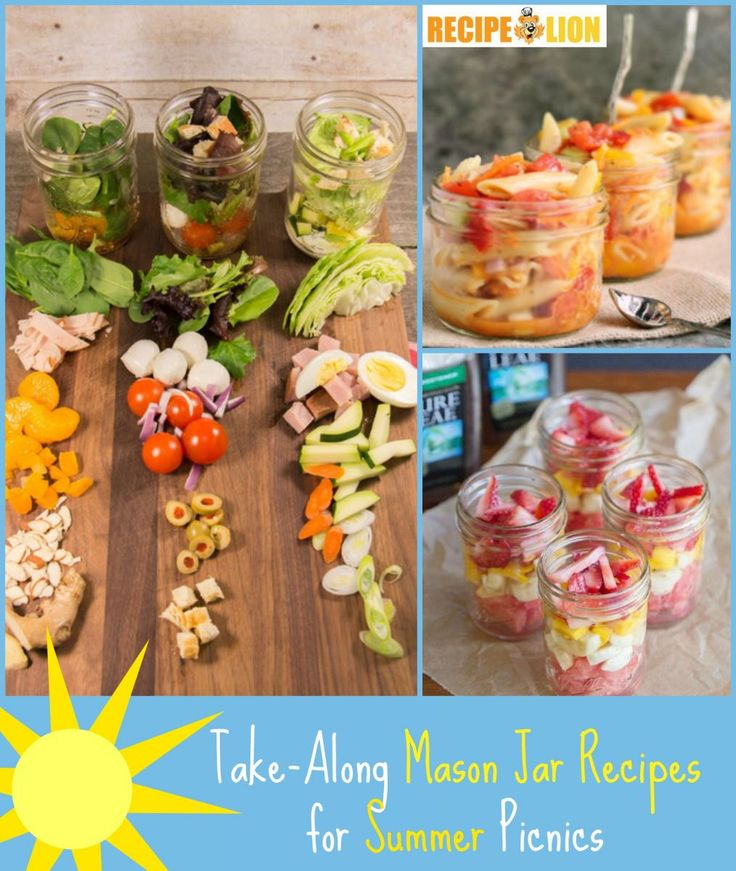 Summer Mason Jar Recipes are perfect for picnics and potlucks. They're just so easy and portable.