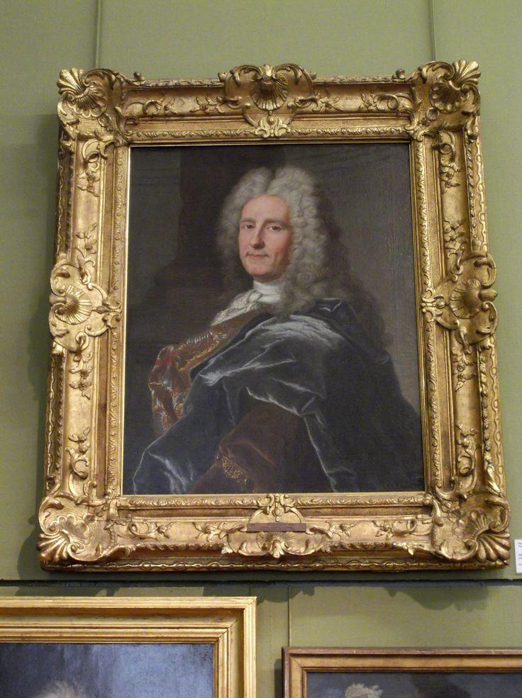 Hyacinthe Rigaud (1659-1743), portrait du marchand-fabricant de draps et financier, François Castanier (Carcassonne 1676 - Paris 1759). Musée des beaux-arts de Carcassonne. Photo: Chroniques de Carcassonne