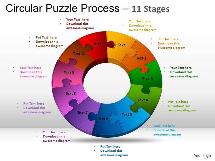 Best Puzzles Powerpoint Templates Images On