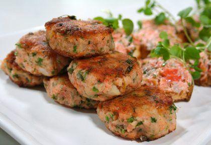 Potato And Wood Roasted Salmon Fish Cakes