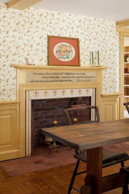 179 best images about fireplaces on pinterest for Traditional dining room fireplace