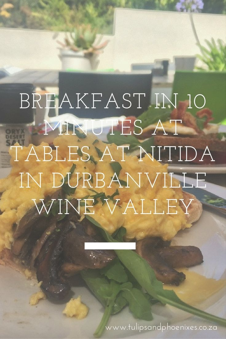 Breakfast in 10 minutes during the busy festive season? Unheard of! But that's exactly what we got at Tables At Nitida in the Durbanville Wine Valley when we visited them in December. Click to read more about the amazing service at this Cape Winelands restaurant!