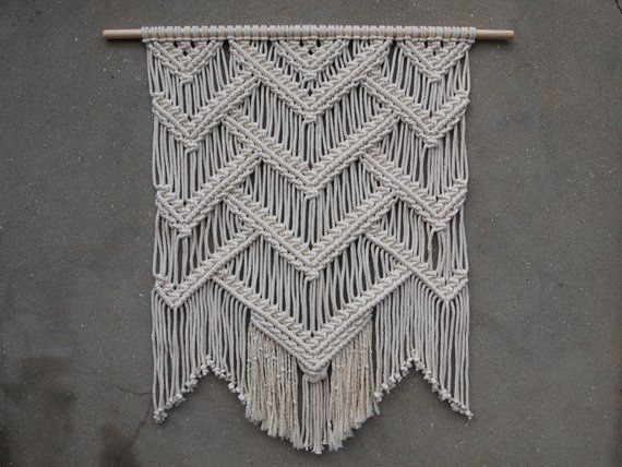 Ready To Ship Macrame Wall Hanging Color Off White Material Unbleached Cotton Rope Wood Length Of The Wo Woven Wall Hanging Wall Hanging Wall Weave * the inches fraction result is rounded to the nearest 1/64 fraction. pinterest