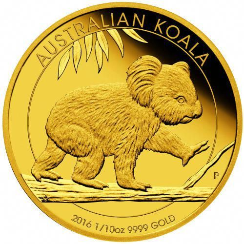 2016 1 10 Oz Proof Gold Koala Coins From Jm Bullion Goldcoins Gold Coins Gold And Silver Coins Coins
