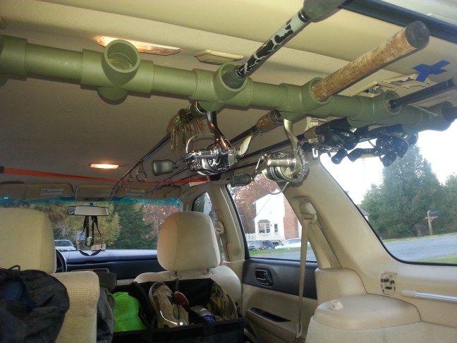 25 best ideas about kayak rack for suv on pinterest fj for Fishing rod holder for suv