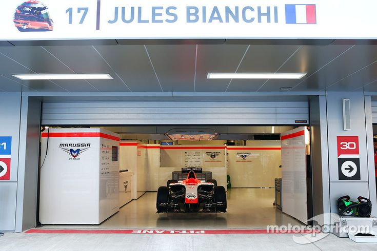 Marussia has decided to run only Max Chilton this weekend out of respect and support for their injured driver Jules Bianchi. Hopefully, they'll let Alexander Rossi make his debut at the USGP in Austin.