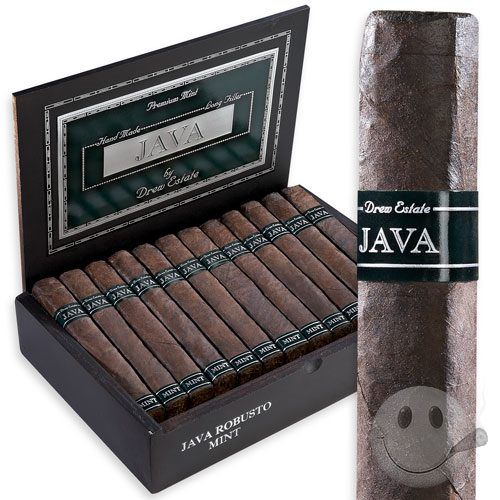 Java Mint by Drew Estate - Cigars International- my new favorite cigar