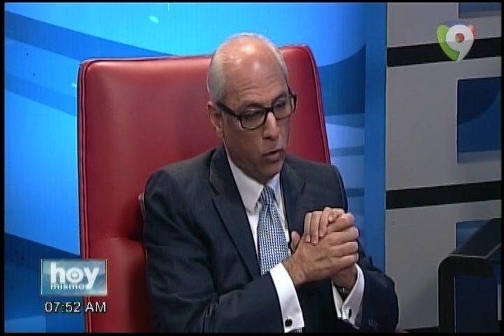 Entrevista Al Consultor Juridico Del Poder Ejecutivo Flavio Dario Espinal