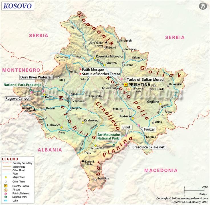 Kosovo Map   http   ww...