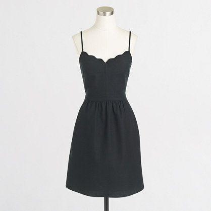 scalloped dress / j.crew factory