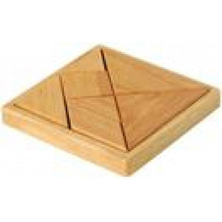 O desafio perfeito para pessoas inteligentes e curiosas. Tangram é um quebra-cabeças chinês formado por 7 peças.