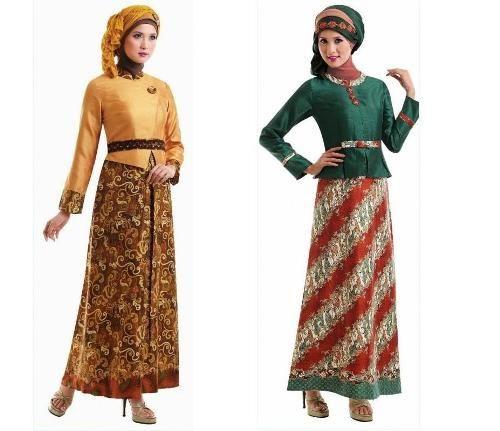 model gamis cantik gamis batik cantik #Hijab #BusanaMuslim #Hijabi #HijabTutorial www.hafana.com
