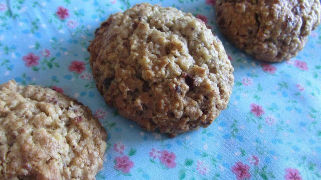 A Casinha das Bolachas: Cookies de Aveia