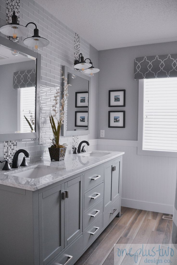 2318 best bathroom vanities images on pinterest bathroom - White bathroom ideas photo gallery ...
