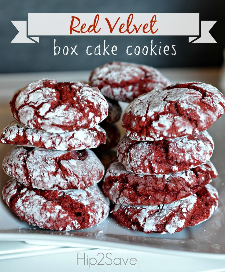 red velvet cookie recipe ~ from Hip2Save | Not Your Grandma's Coupon Site