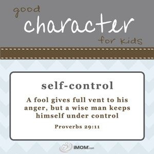 Good Character for Kids printables