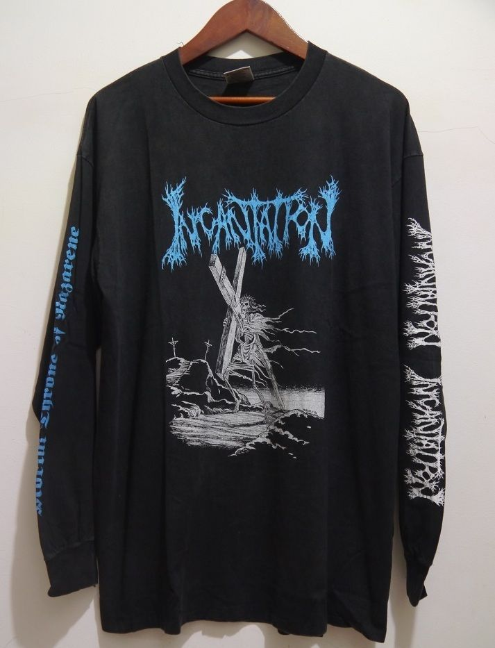 vintage 90s incantation north american tour 94 death metal. Black Bedroom Furniture Sets. Home Design Ideas