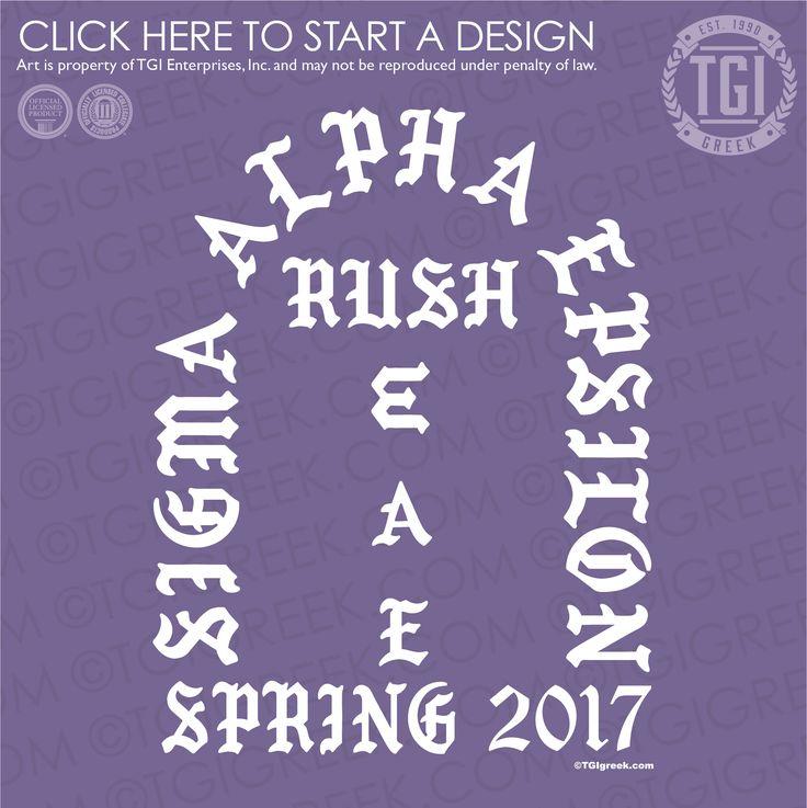 Sigma Alpha Epsilon | ΣΑΕ | SAE | Rush | Fraternity Rush | Rush Shirt | TGI Greek | Greek Apparel | Custom Apparel | Fraternity Tee Shirts | Fraternity T-shirts | Custom T-Shirts