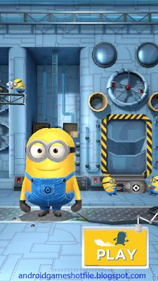 Despicable Me Minion Rush v4.1.0h Mod Apk [Unlimited Tokens/Bananas] | latest android games mod apk 2016-2017