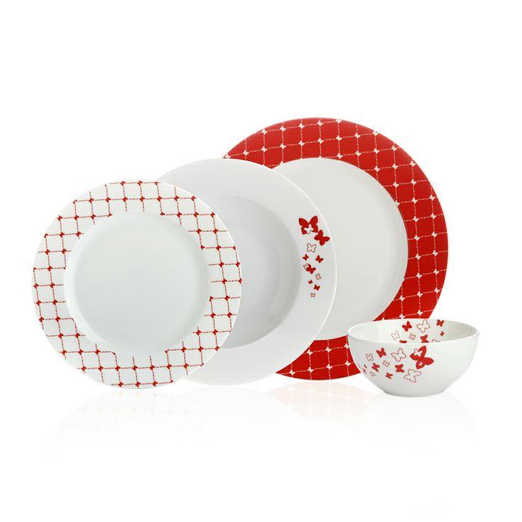 Butterfly Yemek Takımı / Dinnerware Set #bernardo #tabledesign #dinner