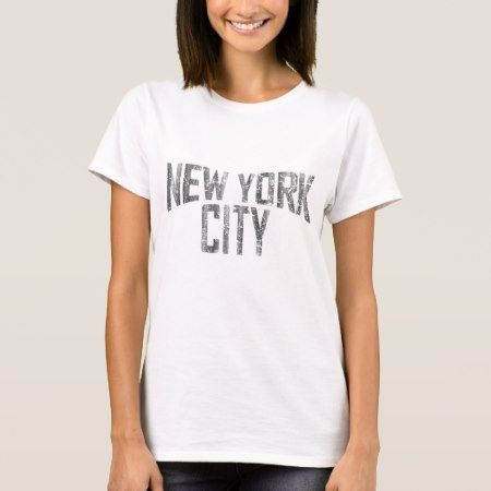 New York City dirty vintage T-Shirt - click/tap to personalize and buy