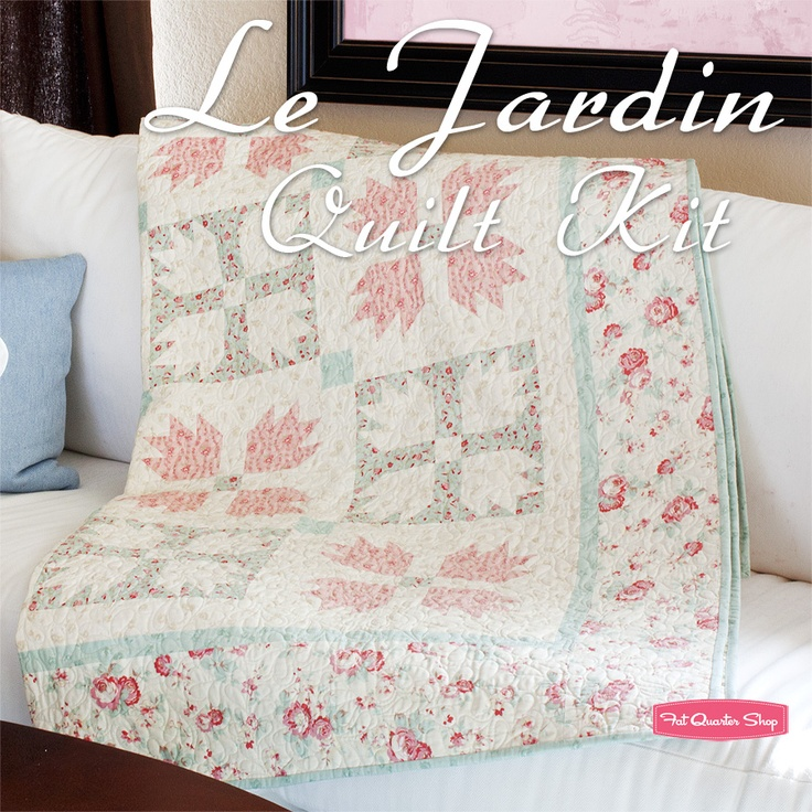 27 best Sewing themed quilts images on Pinterest   Quilt block ... : le jardin quilt pattern - Adamdwight.com