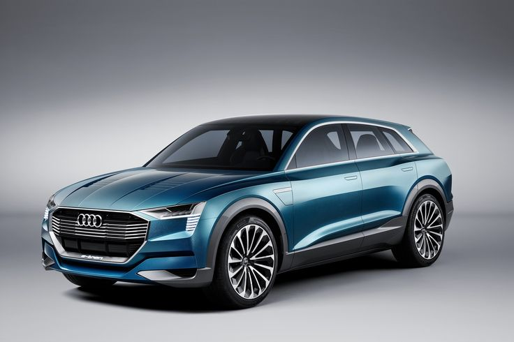 Audi e-tron quattro concept Electric Car - https://3d-car-shows.com/audi-e-tron-quattro-concept-electric-car/  A foretaste of the production version: The electric-powered Audi e-tron quattro concept Range of more than 500 kilometers (310.7 mi) for full everyday usability New concept combines aerodynamics and creative design solutions   Flow-enhanced design with a drag coefficient of 0.25; a powerful,...