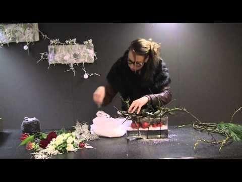 Kerststuk maken met Groei & Bloei en Nelleke Bontje