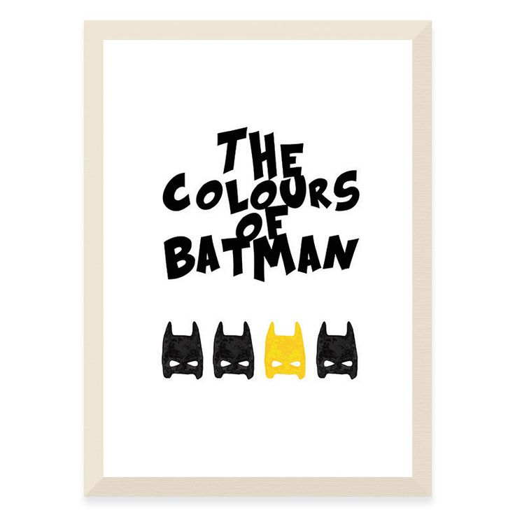 The Colours of Batman - Yellow