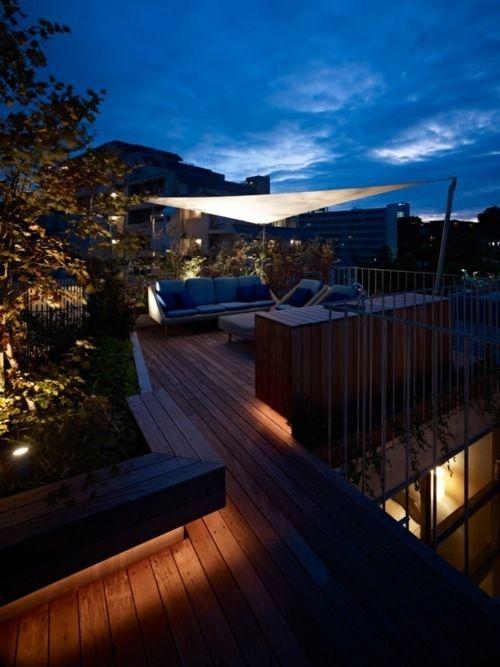 Led strip lighting sweetarchitecture pinterest strip - Residence contemporaine sky garden keiji ashizawa design ...
