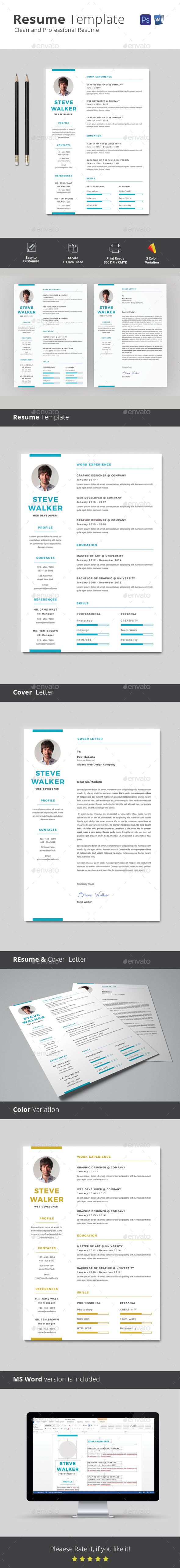 CV / Resume #indesign resume #trendy cv  • Download here → https://graphicriver.net/item/cv-resume/20737020?ref=pxcr