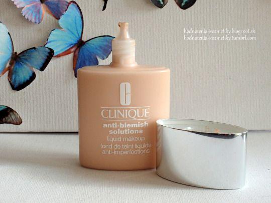 Hodnotenia kozmetiky: Clinique *mejkap* Anti-Blemish Solutions