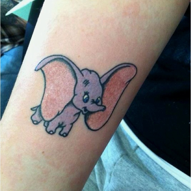 dumbo tattoo small and simple tattoo ideas pinterest disney too cute and quotes. Black Bedroom Furniture Sets. Home Design Ideas