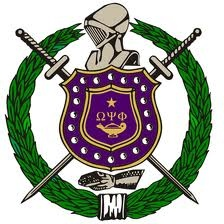 The Omega Psi Phi Crest