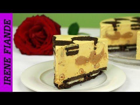 Торт - мороженое за 15 минут+заморозка.Торт мороженое с печеньем и арахисом - YouTube
