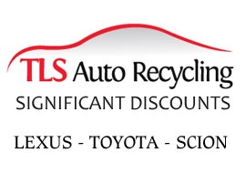 TLS Auto Recycling, specializing in auto dismantling and recycling, offers quality used auto parts for All Toyota, Lexus and Scion Models at discounts from 50% to 60%. All parts sold by TLS are factory tested and come with a 90 day guarantee.