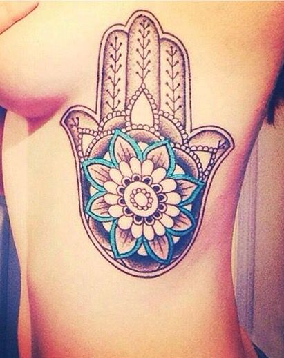 Fatima hand tattoo