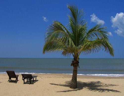Playas de Boca de Uchire donde el sol brilla todo el año #Anzoategui #Venezuela