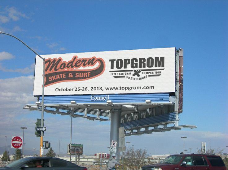 Modern Skatepark Billboard Ad
