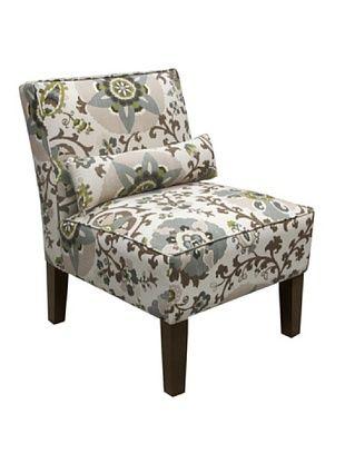 51% OFF Skyline Armless Chair, Rhinestone
