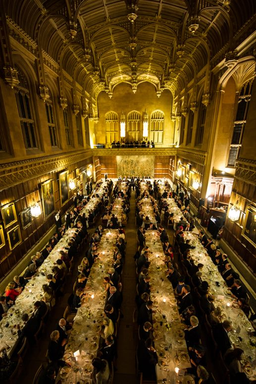 Formal Dinner, King's College, Cambridge | I want to go to there ...