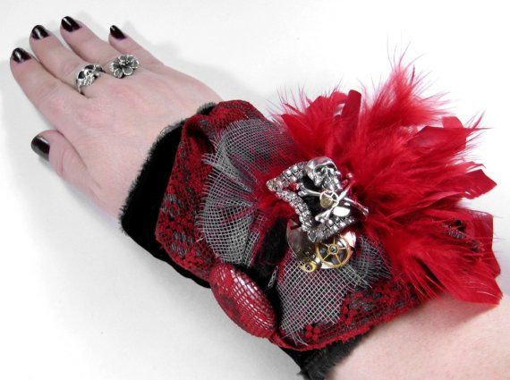 Hey, I found this really awesome Etsy listing at http://www.etsy.com/listing/46315921/steampunk-cuff-neo-victorian-gothic-glam