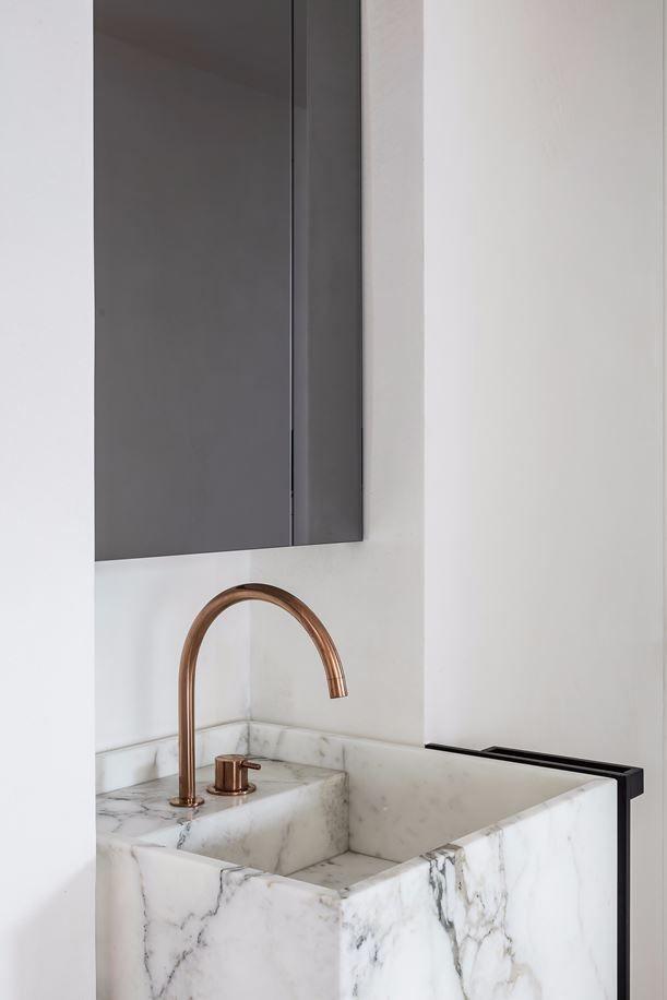 Bathroom - Project DB in Ghent Belgium by Frederic Kielemoes