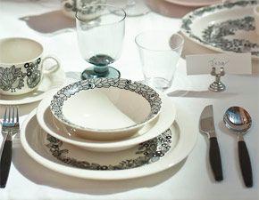 Arabia - Tableware - Piilopaikka-this is sooooooooo calling to be our dinner ware......love