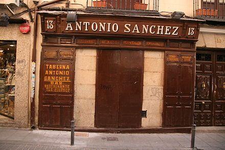 Taberna de Antonio Sánchez - Wikipedia, la enciclopedia libre