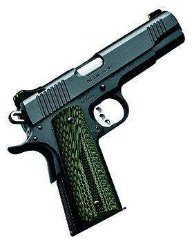 This is my dream gun!!!! Good price too, hint hint!!! $729.99!! It's at Murfs Guns in Oklahoma!! Or online!! Kimber 1911 Custom TLE II 10MM